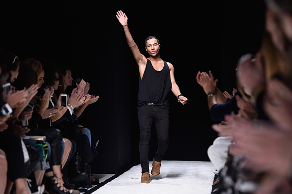 Olivier Rousteing - Fashion Designer「Balmain : Runway - Paris Fashion Week Womenswear Spring/Summer 2015」:写真・画像(6)[壁紙.com]