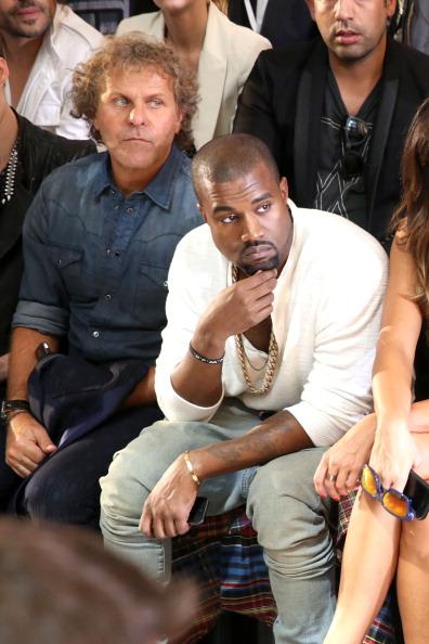 Kanye West - Musician「Diesel Black Gold - Front Row - Mercedes-Benz Fashion Week Spring 2014」:写真・画像(16)[壁紙.com]