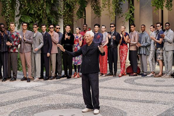 ブランド ジョルジオアルマーニ「Giorgio Armani - Runway - Milan Men's Fashion Week Spring/Summer 2020」:写真・画像(8)[壁紙.com]