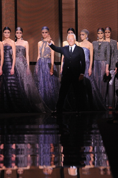 ブランド ジョルジオアルマーニ「Giorgio Armani Prive : Runway - Paris Fashion Week - Haute Couture S/S 2014」:写真・画像(7)[壁紙.com]