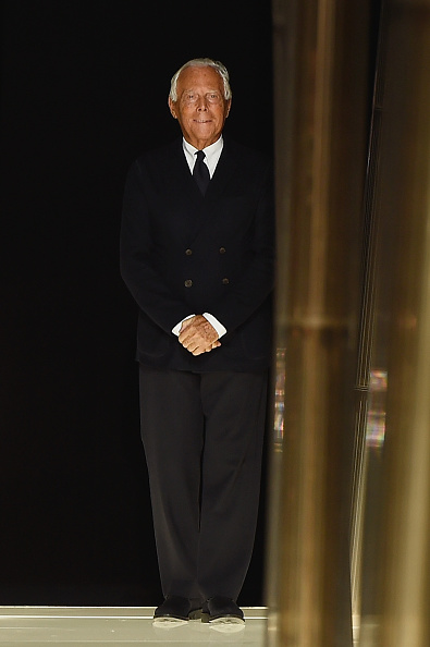 ブランド ジョルジオアルマーニ「Giorgio Armani Prive : Runway - Paris Fashion Week - Haute Couture S/S 2015」:写真・画像(6)[壁紙.com]
