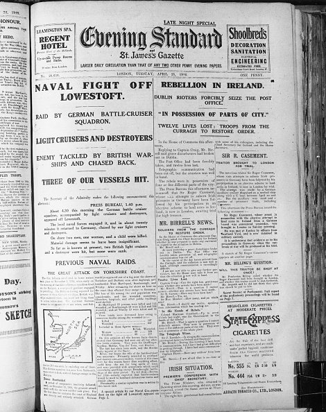 Evening Standard「Easter Rising Front Page」:写真・画像(5)[壁紙.com]