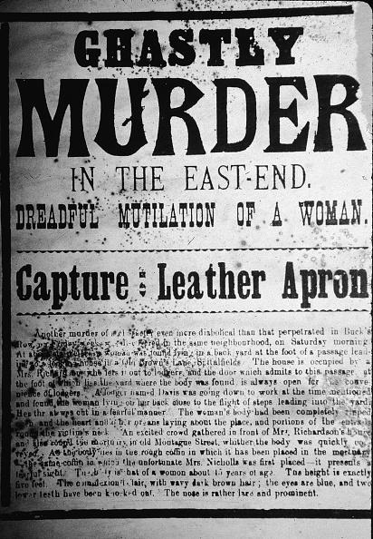 Murderer「Newspaper Reports On Jack The Ripper」:写真・画像(5)[壁紙.com]