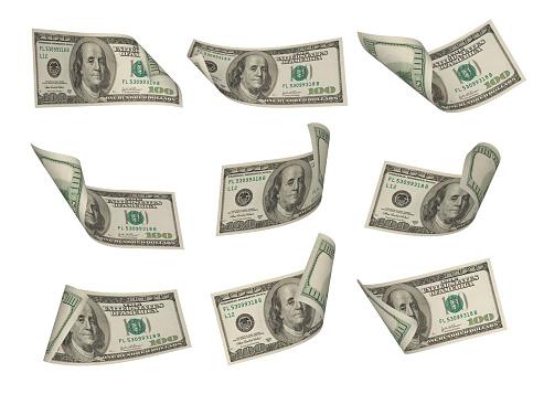 Banking「One hundred dollar bills」:スマホ壁紙(12)