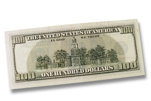 アメリカ通貨「One hundred Dollars」:スマホ壁紙(15)