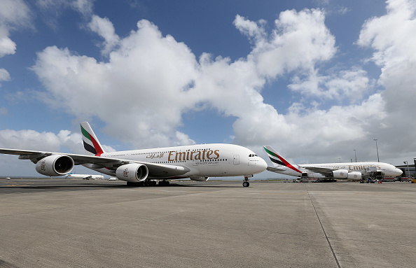 Airbus A380「Emirates A380 Daily Double Operation To New Zealand」:写真・画像(14)[壁紙.com]