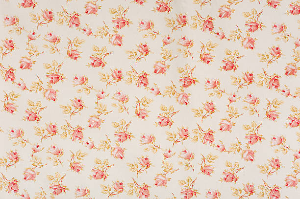 Eydies Rose Drop Floral Antique Fabric:スマホ壁紙(壁紙.com)