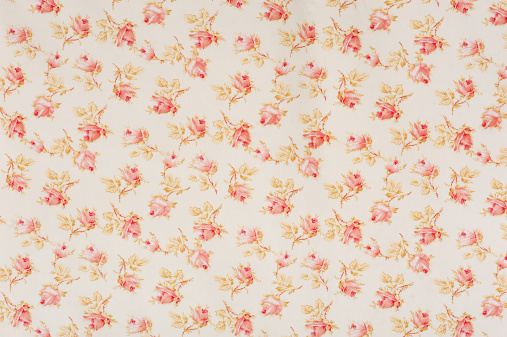 Floral Pattern「Eydies Rose Drop Floral Antique Fabric」:スマホ壁紙(9)
