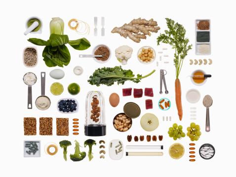 Spice「A healthy diet food grid」:スマホ壁紙(8)