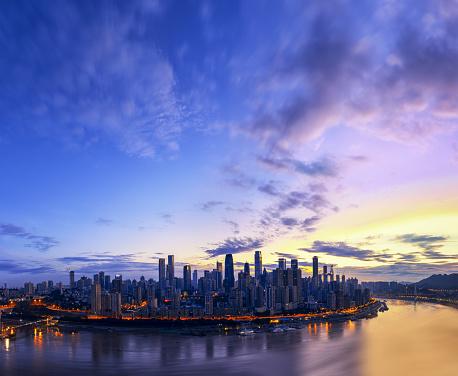 都市「The dawn of chongqing」:スマホ壁紙(5)