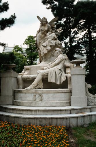 俳優「Ferdinand Raimund statue, Vienna, Austria」:スマホ壁紙(11)