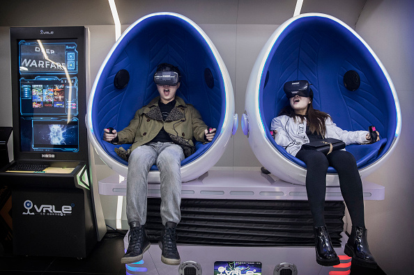Amusement Park Ride「China's Virtual Reality Arcades Bring VR To The Masses」:写真・画像(11)[壁紙.com]