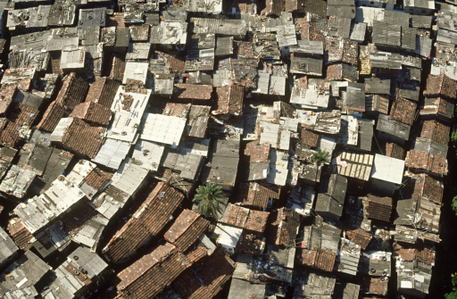 Housing Project「roofs of shanty town, bombay, india」:スマホ壁紙(1)