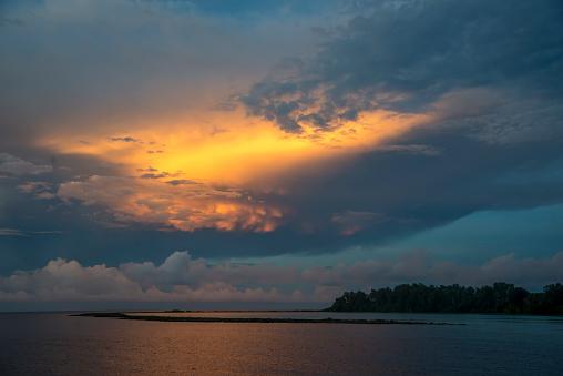 ソロモン諸島「Lagoon at Sunset」:スマホ壁紙(13)