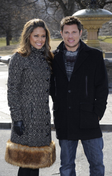 Larry Busacca「Nick Lachey and Vanessa Minnillo Share the Love with NIVEA in Central Park」:写真・画像(15)[壁紙.com]