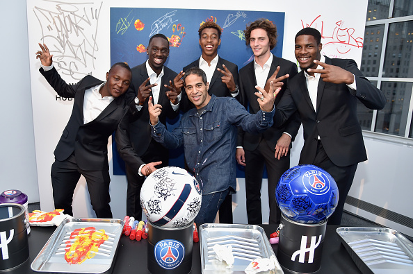 Adrien Rabiot「Hublot Launches Latest Timepiece With Paris Saint-Germain Team And Celebrates Partnership In New York City」:写真・画像(0)[壁紙.com]