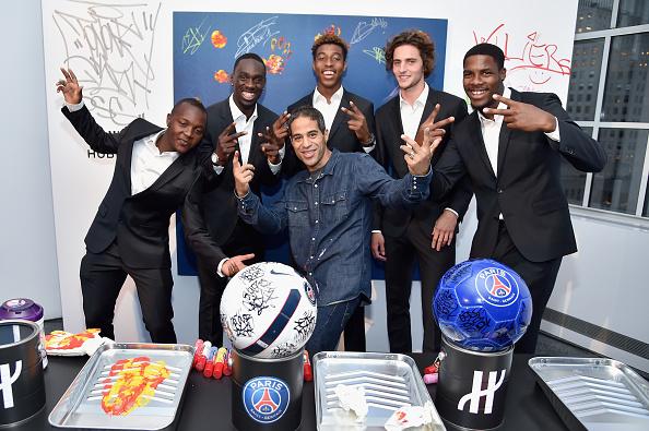 Adrien Rabiot「Hublot Launches Latest Timepiece With Paris Saint-Germain Team And Celebrates Partnership In New York City」:写真・画像(0)[壁紙.com]