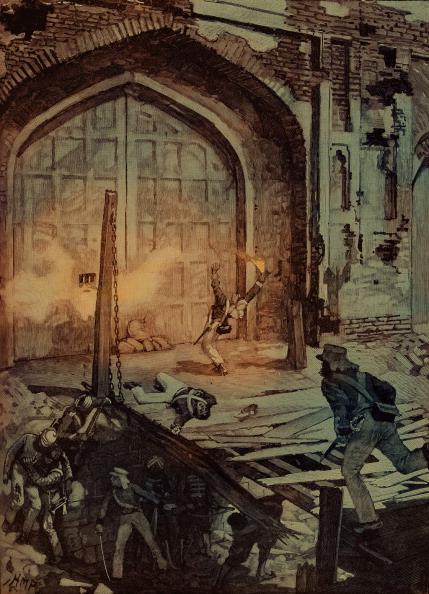 Delhi「Blowing up the Kashmiri Gate at Delhi」:写真・画像(3)[壁紙.com]