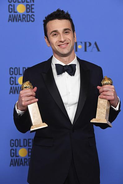 Burberry「74th Annual Golden Globe Awards - Press Room」:写真・画像(3)[壁紙.com]