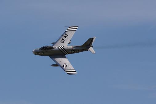 Daniel Gi「A North American F-86A Sabre of the U.S. Air Force.」:スマホ壁紙(1)