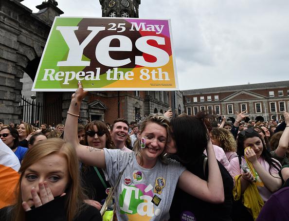 Ireland「Ireland Votes In Favour of Law Reform In Abortion Referendum」:写真・画像(17)[壁紙.com]