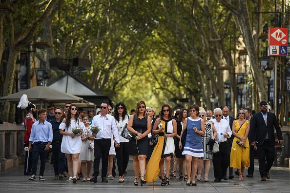 Boulevard「First Year Anniversary Of Barcelona Terror Attack In Las Ramblas Area」:写真・画像(19)[壁紙.com]