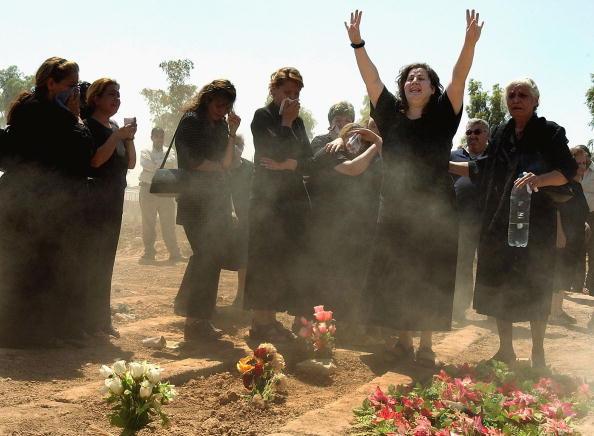 Clear Sky「Iraqi Christians Continue To Bury Relatives」:写真・画像(19)[壁紙.com]
