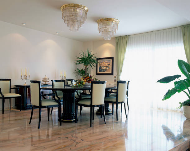 A well designed dining room is seen:ニュース(壁紙.com)