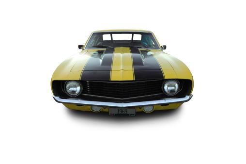 Hot Rod Car「Camaro from 1969」:スマホ壁紙(13)