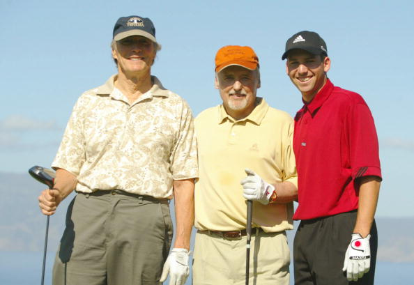 Kapalua「Sergio poses with Eastwood and Hopper」:写真・画像(17)[壁紙.com]