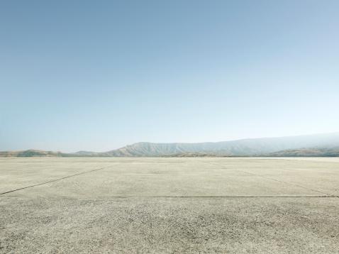 Parking Lot「Empty concrete Background」:スマホ壁紙(9)