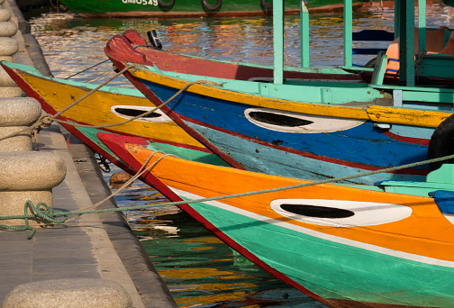 幸運「Boats, Hoi An Vietnam」:スマホ壁紙(11)