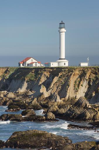 Point Arena Lighthouse「Point Arena Lighthouse California」:スマホ壁紙(4)