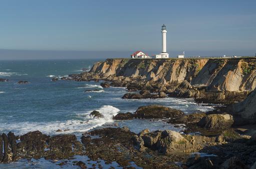 Point Arena Lighthouse「Point Arena Lighthouse California」:スマホ壁紙(9)