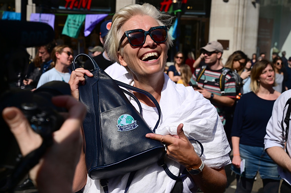 Social Movement「Extinction Rebellion Protests Continue Over The Easter Bank Holiday」:写真・画像(9)[壁紙.com]