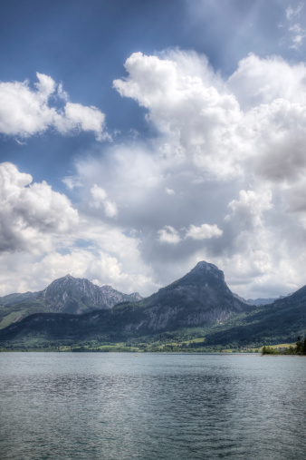 Salzkammergut「Lake Wolfgangsee in Austria」:スマホ壁紙(10)