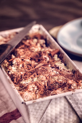 アイスクリーム「バニラ、チョコレート、ピスタチオのアイスクリーム」:スマホ壁紙(18)