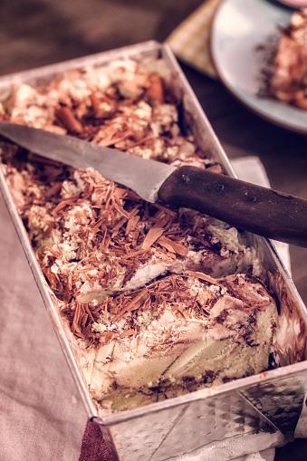 アイスクリーム「バニラ、チョコレート、ピスタチオのアイスクリーム」:スマホ壁紙(17)