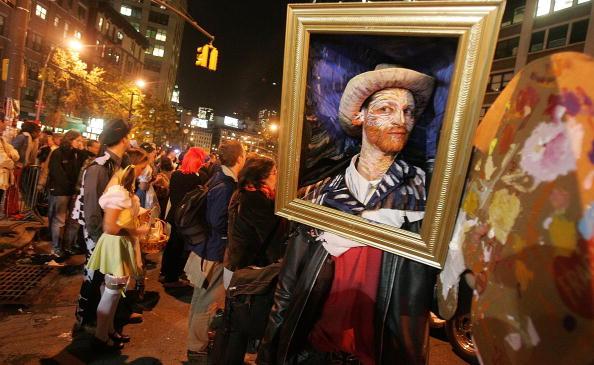 Costume「New York's World Famous Halloween Parade Winds Through Big Apple」:写真・画像(9)[壁紙.com]