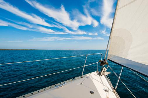 Ship「ボートを、ブルースカイ」:スマホ壁紙(10)