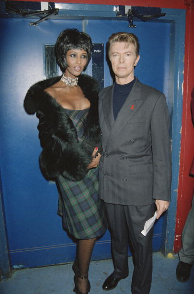 "Fashion Model「World Aids Day ""Concert Of Hope"", At Wembley Arena, London, David Bowie And Iman」:写真・画像(18)[壁紙.com]"