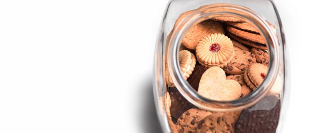 Biscuit「Cookie jar filled with a variety of cookies」:スマホ壁紙(14)