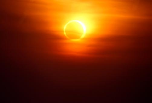 Annular Solar Eclipse「Eclipse」:スマホ壁紙(1)