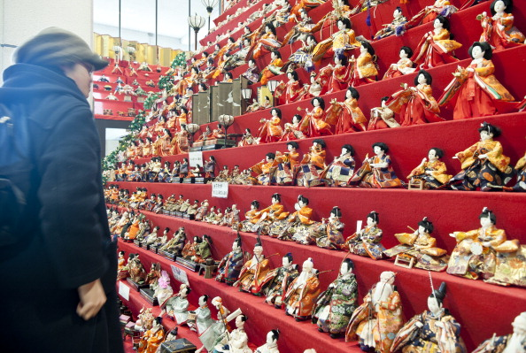 雛人形「Hina Dolls On Pyramid Display For Girls' Day」:写真・画像(14)[壁紙.com]