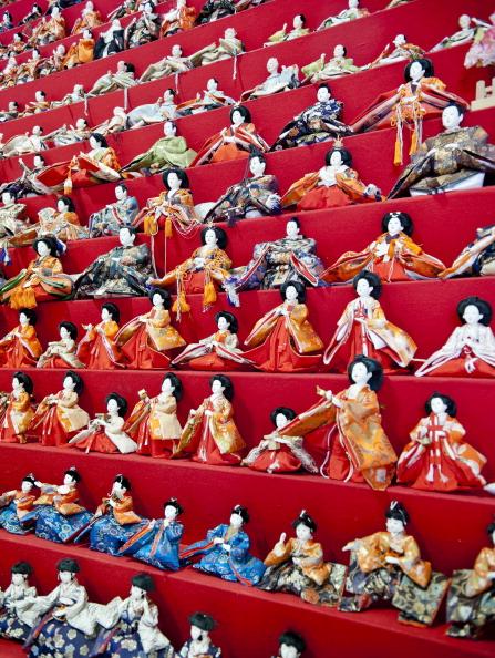 Hinamatsuri「Hina Dolls On Pyramid Display For Girls' Day」:写真・画像(14)[壁紙.com]