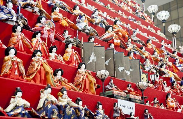ひな祭り「Hina Dolls On Pyramid Display For Girls' Day」:写真・画像(15)[壁紙.com]