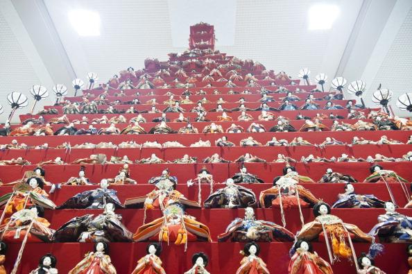 ひな祭り「Hina Dolls On Pyramid Display For Girls' Day」:写真・画像(18)[壁紙.com]