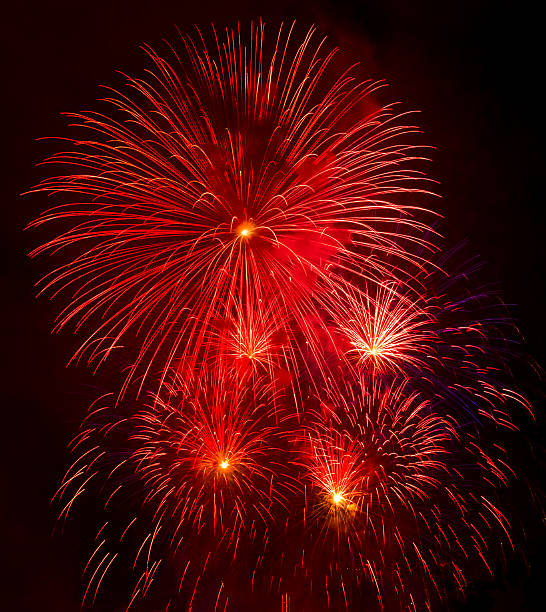 New York City, Independence Day celebration with fireworks:スマホ壁紙(壁紙.com)