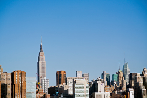 Cityscape「New York City skyline」:スマホ壁紙(3)