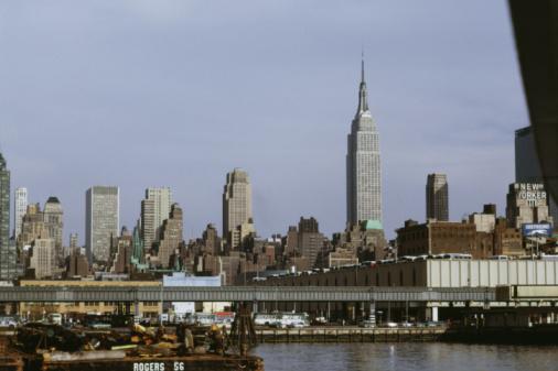 1990-1999「New York City skyline」:スマホ壁紙(5)